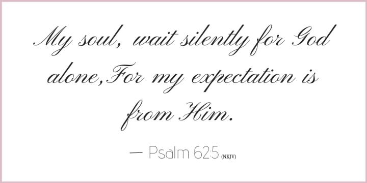 Psalm 62 verse 5